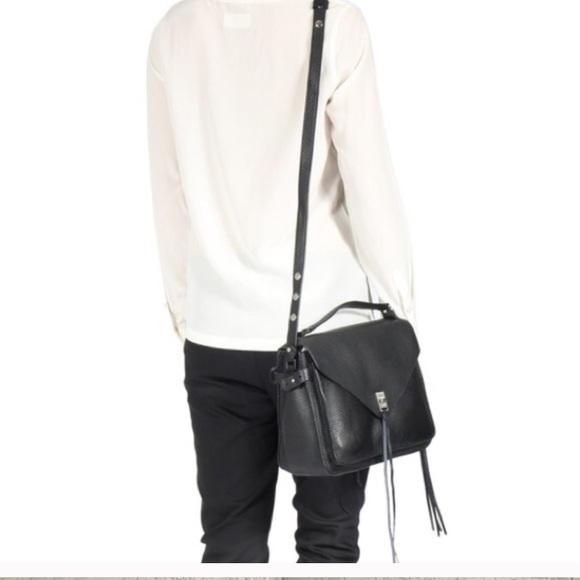 0fb50e1ad993fe Rebecca Minkoff Bags | Nwot Black Darren Messenger Bag | Poshmark